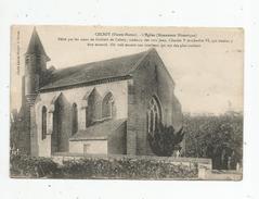 G-I-E , Cp , 52 , CELSOY , L'église , écrite 1916 - Francia