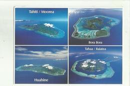 136577 TAHITI MOOREA BORA BORA HUAHUNE TAHAA RAIATEA POLINESIA - Polinesia Francese