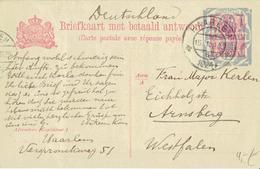 Niederlande / Netherland - Ganzsache Postkarte Echt Gelaufen / Postcard Used (L767) - Entiers Postaux