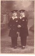26003 Carte Photo Enfant Frere - Faux Jumeaux - Marin Children - Belgique Vers 1920 -photographe  Timmermans Bruxelles-