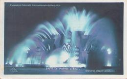 EXPOSITION COLONIALE INTERNATIONALE DE PARIS 1931 LE THEATRE D EAU - Tentoonstellingen