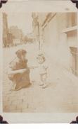26006 Carte Photo Enfant  Maman - Garcon Children - Belgique Vers 1910 - à Identifier