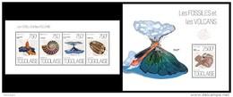 TOGO 2013 - Fossils And Volcanos - YT 3424-7 + BF717; CV = 32 €