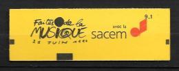 2614-C9- Faites De La Musique SACEM- Carnet Fermé - 2 - Carnets
