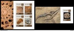 SOLOMON Isl. 2014 - Fossils; CV = 18 €