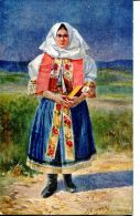 N°32310 -cpa Illustrateur -Narodné Typy L'udové- - Slovaquie