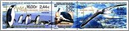 MDB-BK8-289 MINT PF/MNH ¤ AUSTRALES ANTARCTIQUES 2000 3w In Strip ¤ BIRDS OISEAUX BIRDS AVES VOGELS VÖGEL
