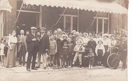 26010 Carte Photo Café Restaurant -sans Doute Belgique -vers 1910 - à Identifier -