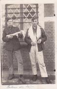 26011 Carte Photo Camp Beverloo Belgique -1924 - Charles Dufour -retour Du Bain -