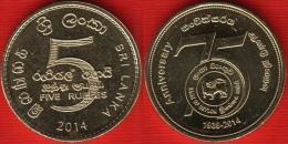 "Sri Lanka 5 Rupees 2014 ""Bank Of Ceylon"" UNC - Sri Lanka"