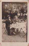26013 Carte Photo IXELLES Laiterie Du Lac , Aout 1936 -bar Couple Biere Café
