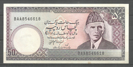 PAKISTAN USED OLD BANKNOTE RS 50 - Pakistan