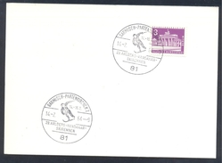 Germany Deutschland 1964 Card; Alpine Skiing Skifahren Ski Alpin; 29. Arlberg Kandahar Skirennen; Garmisch Partenkirchen