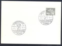 Germany Deutschland 1963 Card; Cross Skiing; Deutsche Nordische Skimeisterschaften Baiersbronn