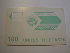 Test Phonecard From Djibouti - Without Chip - Without Number On Back - Djibouti