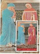 Umm Al Qiwain 1972 Dante Virgilio Divina Commedia Inferno Canto XI Papa Anastasio Miniatura Illustrazione - Umm Al-Qiwain