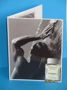 Cartes Parfumées Carte ÉGOÏSTE  PLATINUM De CHANEL  DOUBLE RECTO VERSO +  2 ÉCHANTILLONS - Modern (from 1961)