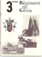 3ème. Régiment Du Génie (fascicule De 36 Pages, Présentation Du Régiment) Année 1984. - Books, Magazines, Comics
