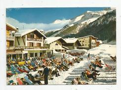 G-I-E , Cp , 73 , VAL D'ISERE , Les Terrasses Du BAS DE SOLAISE , Voyagée 1977 , Ed : Theojac - Val D'Isere