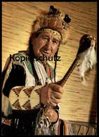 POSTKARTE MEDIZINMANN VOM SIOUX STAMM GEISTERKOPF Medicine Man Quack Indian Indians Indien Cpa AK Postcard Ansichtskarte - Indianer