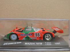 MAZDA 787B 1991 (24 Heures Du Mans) - 1/43 En Boite,en Excellent Etat ! - Coches