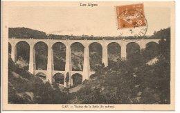 L55A_51 - Gap - Viaduc De La Selle (81 Mètres) Train, Locomotive à Vapeur - Gap