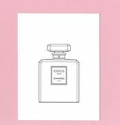 Cartes Parfumées  Carte  CHANEL COCO NOIR  De  CHANEL - Cartes Parfumées