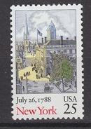 USA 1988 New York 1v ** Mnh (34791L) - Nuovi