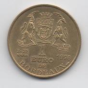 1 Euro De Bordeaux 1998 - Euros Of The Cities
