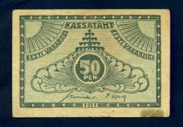 Banconota Estonia 50 Pen 1919 - Estonia