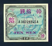 Banconota Giappone 10 Sen FDS - Giappone