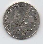 4 Euro De Crouy En Thelle 1997 - Euros Of The Cities