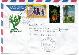 30339 - Enveloppe Envoyée De Kigali En Suisse 2002
