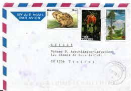 30340 - Enveloppe Envoyée De Kigali En Suisse 2002