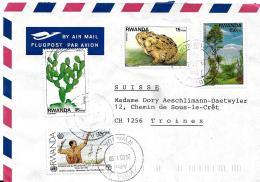 30341 - Enveloppe Envoyée De Kigali En Suisse 2003