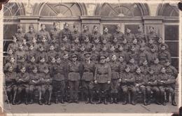 26022 Carte Photo   Belgique - Regiment à Identifier