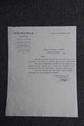 Lettre Ancienne  - GENEVE - PATEK Philippe , Joailliers. Signature Du Joaillier. - Switzerland