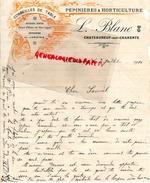 16 - CHATEAUNEUF SUR CHARENTE - FACTURE PEPINIERES ET HORTICULTURE L. BLANC - 1914 - France