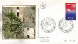 ANDORRA. Bi-centenaire De La Révolution Française,  FDC D'Andorre 1989