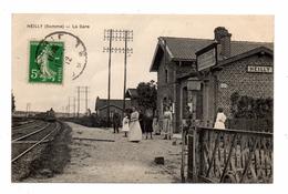 80 HEILLY  La Gare - Francia