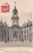 RENNES  ( 35 ) Hôtel De Ville Et Monument De Jean Boucher - Rennes