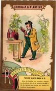21 Cards C1900 Pub Chocolat Du Planteur Recettes Utiles Moyen De... Imp De La Compagnie Coloniale - Chocolat