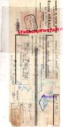 16 - COGNAC - TRAITE ROGER HERAULT - CHARBONS BOIS CHAUFFAGE- RUE DU PONT NEUF- 1938 - France