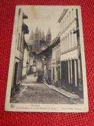 TOURNAI -  La  Cathédrale Et La Rue Des Bouchers St Brice - Doornik