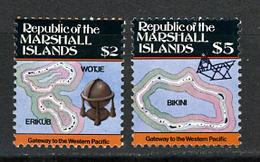 1986 - MARSHALL ISLANDS -  Catg.. Mi. 71/72 -  NH - (I-SRA3207.27) - Marshall