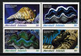 1986 - MARSHALL ISLANDS -  Catg.. Mi. 73/76 -  NH - (I-SRA3207.27) - Marshall