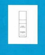 Cartes Parfumées  Carte CHANEL POUR MONSIEUR   De  CHANEL - Cartes Parfumées