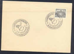 Germany Deutschland 1953 Card: Bob Sleigh; Bobweltmeisterschaften World Championships; Garmisch Partenkirchen