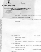 16 - JARNAC COGNAC - FACTURE  C. IVALDI & FILS- FINE CHAMPAGNE - France