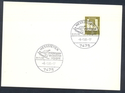 Germany Deutschland 1965 Card: Cross Country Skiing; Langlauf; Ski Winterspiele Der Deutschen Skijugend